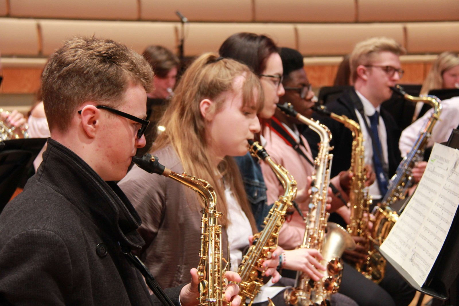 Kent Youth Wind Orchestra Spring Course: Woodwind Sectional