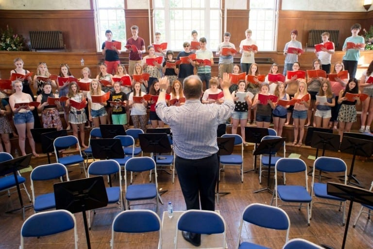 Kent Music Choir Rehearsals