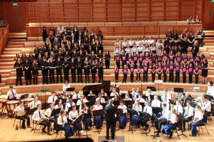 Kent Youth Wind Orchestra and Choirs Spring Concert