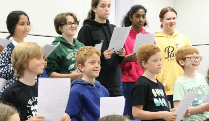 Leading healthy singing in primary schools