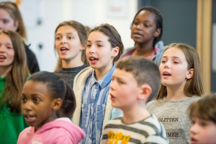 Kent County Junior Choirs Rehearsal: February 2020