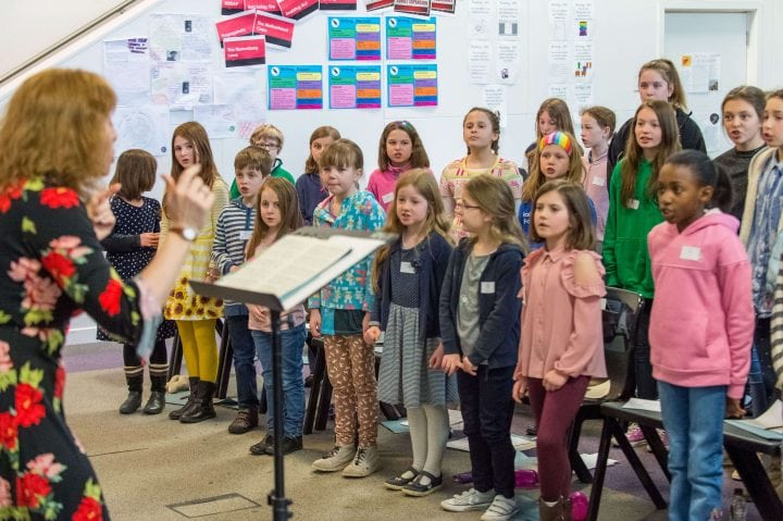 Kent County Junior Choirs Rehearsal: 30 November 2019