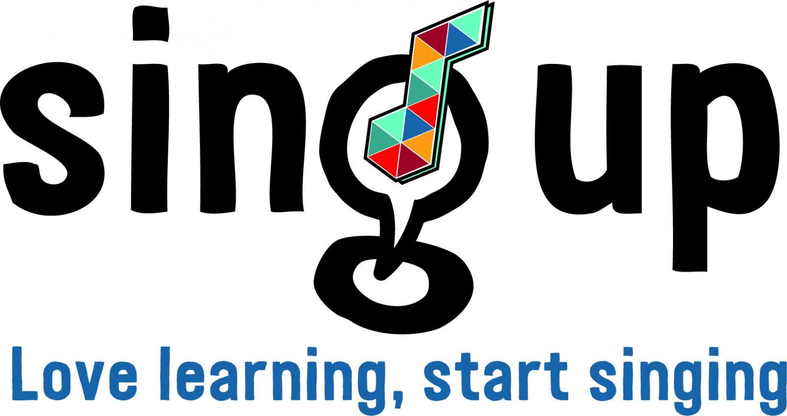 Sing Up Logo | Kent Music