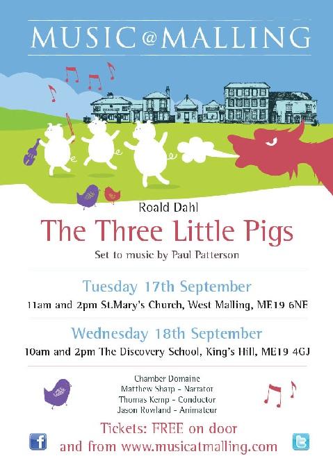 Music@Malling – Three Little Pigs